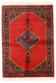 Kazak Matto 137X188 Itämainen Käsinsolmittu Ruoste/Tummanruskea (Villa, Pakistan)