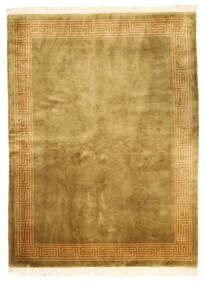 Kiina Antiikkiviimeistely Matto 168X229 Itämainen Käsinsolmittu Ruskea/Oliivinvihreä (Villa, Kiina)