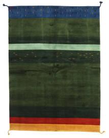 Gabbeh Indo Matto 166X227 Moderni Käsinsolmittu Tummanvihreä (Villa, Intia)