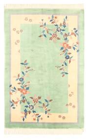 Kiina Antiikkiviimeistely Matto 120X180 Itämainen Käsinsolmittu Pastellinvihreä/Keltainen (Villa, Kiina)