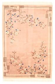 Kiina Antiikkiviimeistely Matto 122X183 Itämainen Käsinsolmittu Tummanbeige/Beige (Villa, Kiina)