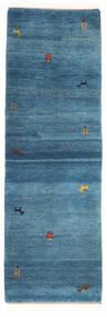 Gabbeh Indo Matto 78X241 Moderni Käsinsolmittu Käytävämatto Sininen/Tummansininen (Villa, Intia)