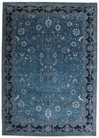 Gabbeh Loribaft Matto 201X282 Moderni Käsinsolmittu Tummansininen/Sininen (Villa, Intia)