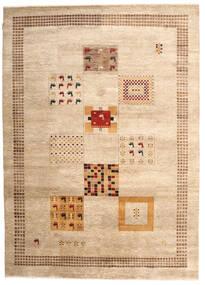 Gabbeh Loribaft Matto 200X280 Moderni Käsinsolmittu Beige/Vaaleanruskea (Villa, Intia)