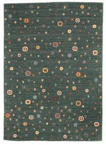 Loribaf Loom Matto 249X345 Moderni Käsinsolmittu Sininen/Tummanvihreä (Villa, Intia)