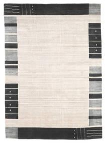 Loribaf Loom Matto 165X233 Moderni Käsinsolmittu Beige/Valkoinen/Creme (Villa, Intia)