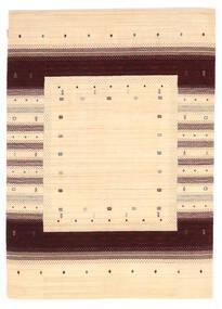 Loribaf Loom Matto 167X233 Moderni Käsinsolmittu Beige/Tummanbeige (Villa, Intia)