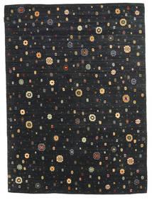 Gabbeh Indo Matto 173X240 Moderni Käsinsolmittu Musta (Villa, Intia)