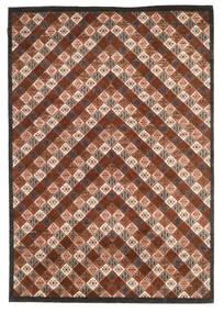 Gabbeh Loribaft Matto 169X245 Moderni Käsinsolmittu Tummanruskea/Tummanpunainen (Villa, Intia)