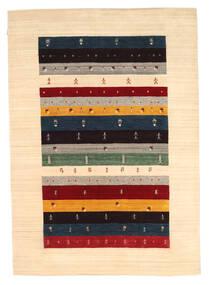 Loribaf Loom Matto 176X236 Moderni Käsinsolmittu Beige/Tummanbeige (Villa, Intia)