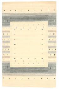Loribaf Loom Matto 154X245 Moderni Käsinsolmittu Beige/Keltainen (Villa, Intia)