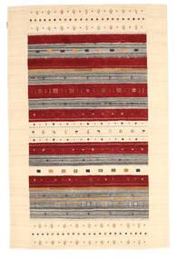 Loribaf Loom Matto 157X241 Moderni Käsinsolmittu Tummanbeige/Beige/Tummanpunainen (Villa, Intia)