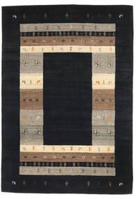 Loribaf Loom Matto 165X237 Moderni Käsinsolmittu Tummanharmaa/Vaaleanharmaa (Villa, Intia)