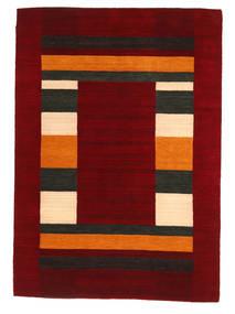 Loribaf Loom Matto 168X237 Moderni Käsinsolmittu Tummanpunainen/Punainen (Villa, Intia)