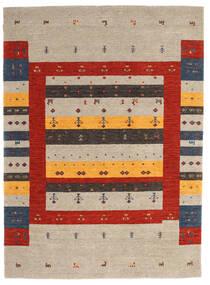 Loribaf Loom Matto 175X240 Moderni Käsinsolmittu Vaaleanharmaa/Ruoste (Villa, Intia)