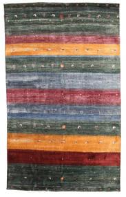 Gabbeh Loribaft Matto 145X236 Moderni Käsinsolmittu Tummanharmaa/Sininen (Villa, Intia)