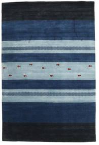 Loribaf Loom Matto 204X304 Moderni Käsinsolmittu Tummansininen/Vaaleansininen (Villa, Intia)