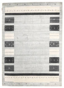 Loribaf Loom Matto 167X235 Moderni Käsinsolmittu Vaaleanharmaa/Tummanbeige (Villa, Intia)