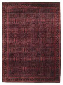 Gabbeh Loribaft Matto 170X234 Moderni Käsinsolmittu Tummanruskea/Tummanpunainen (Villa, Intia)