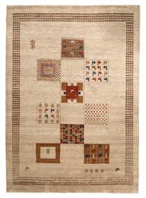 Gabbeh Loribaft Matto 198X276 Moderni Käsinsolmittu Beige/Vaaleanruskea (Villa, Intia)