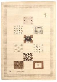 Gabbeh Loribaft Matto 199X282 Moderni Käsinsolmittu Beige (Villa, Intia)