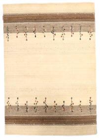 Loribaf Loom Matto 124X180 Moderni Käsinsolmittu Beige/Tummanbeige (Villa, Intia)