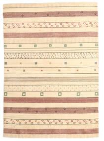 Loribaf Loom Matto 167X238 Moderni Käsinsolmittu Beige (Villa, Intia)