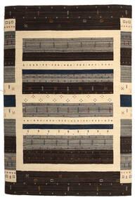 Loribaf Loom Matto 203X304 Moderni Käsinsolmittu Tummanruskea/Beige (Villa, Intia)