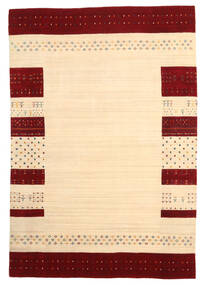 Loribaf Loom Matto 166X241 Moderni Käsinsolmittu Beige/Tummanbeige (Villa, Intia)