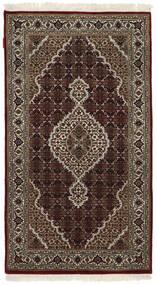 Tabriz Royal Matto 93X165 Itämainen Käsinsolmittu Tummanpunainen/Vaaleanharmaa ( Intia)