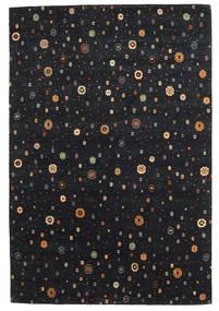 Loribaf Loom Matto 169X238 Moderni Käsinsolmittu Musta (Villa, Intia)