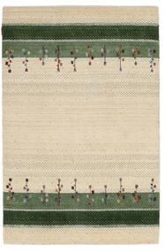 Loribaf Loom Matto 123X187 Moderni Käsinsolmittu Beige/Oliivinvihreä (Villa, Intia)