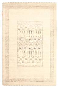 Gabbeh Loribaft Matto 88X133 Moderni Käsinsolmittu Beige (Villa, Intia)