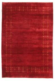 Gabbeh Loribaft Matto 120X178 Moderni Käsinsolmittu Punainen (Villa, Intia)