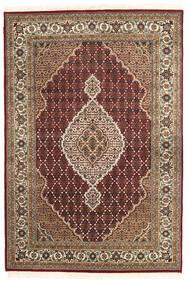 Tabriz Royal Matto 167X248 Itämainen Käsinsolmittu Tummanpunainen/Tummanruskea ( Intia)