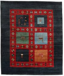 Gabbeh Loribaft Matto 207X251 Moderni Käsinsolmittu Tummansininen/Ruoste (Villa, Intia)