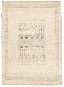 Gabbeh Loribaft Matto 89X125 Moderni Käsinsolmittu Beige (Villa, Intia)