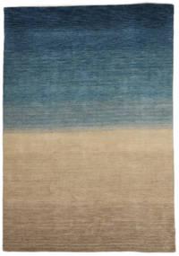 Gabbeh Indo Matto 158X240 Moderni Käsinsolmittu Vaaleanruskea/Tummansininen (Villa, Intia)