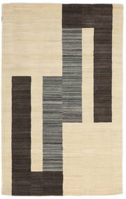 Loribaf Loom Matto 153X243 Moderni Käsinsolmittu Beige/Tummanharmaa (Villa, Intia)
