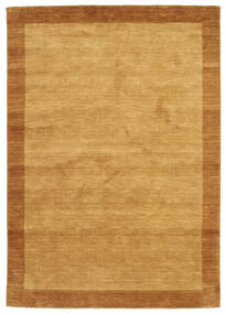 Handloom Frame - Kulta Matto 160X230 Moderni Vaaleanruskea/Ruskea (Villa, Intia)