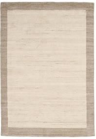 Handloom Frame - Natural/Sand Matto 160X230 Moderni Beige/Vaaleanharmaa (Villa, Intia)