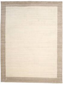 Handloom Frame - Natural/Sand Matto 300X400 Moderni Beige/Vaaleanharmaa Isot (Villa, Intia)