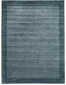 Handloom Frame - Petrol Sininen Matto 300X400 Moderni Sininen/Tummansininen Isot (Villa, Intia)