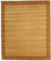Handloom Frame - Kulta Matto 250X300 Moderni Vaaleanruskea/Ruskea/Beige Isot (Villa, Intia)
