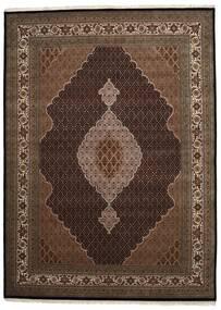 Tabriz Royal Matto 301X415 Itämainen Käsinsolmittu Ruskea/Tummanpunainen/Tummanruskea Isot ( Intia)