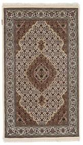 Tabriz Royal Matto 91X156 Itämainen Käsinsolmittu Tummanruskea/Vaaleanharmaa ( Intia)