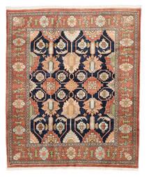 Heriz Matto 209X249 Itämainen Käsinsolmittu Vaaleanruskea/Tummanharmaa (Villa, Persia/Iran)
