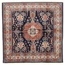 Loribaft Persia Matto 198X200 Moderni Käsinsolmittu Neliö Tummanvioletti/Tummanpunainen (Villa, Persia/Iran)