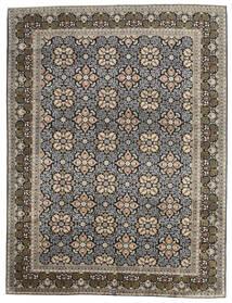 Keshan Matto 289X381 Itämainen Käsinsolmittu Vaaleanharmaa/Tummanharmaa Isot (Villa, Persia/Iran)