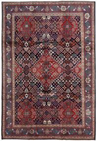 Moud Matto 221X320 Itämainen Käsinsolmittu Tummanpunainen/Tummansininen (Villa/Silkki, Persia/Iran)